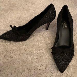 Vaneli di Notte black heels